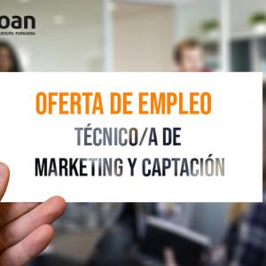 Oferta de empleo: Técnico-a de Marketing y Captación