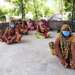 mujeres adivasi ante la crisis sanitaria
